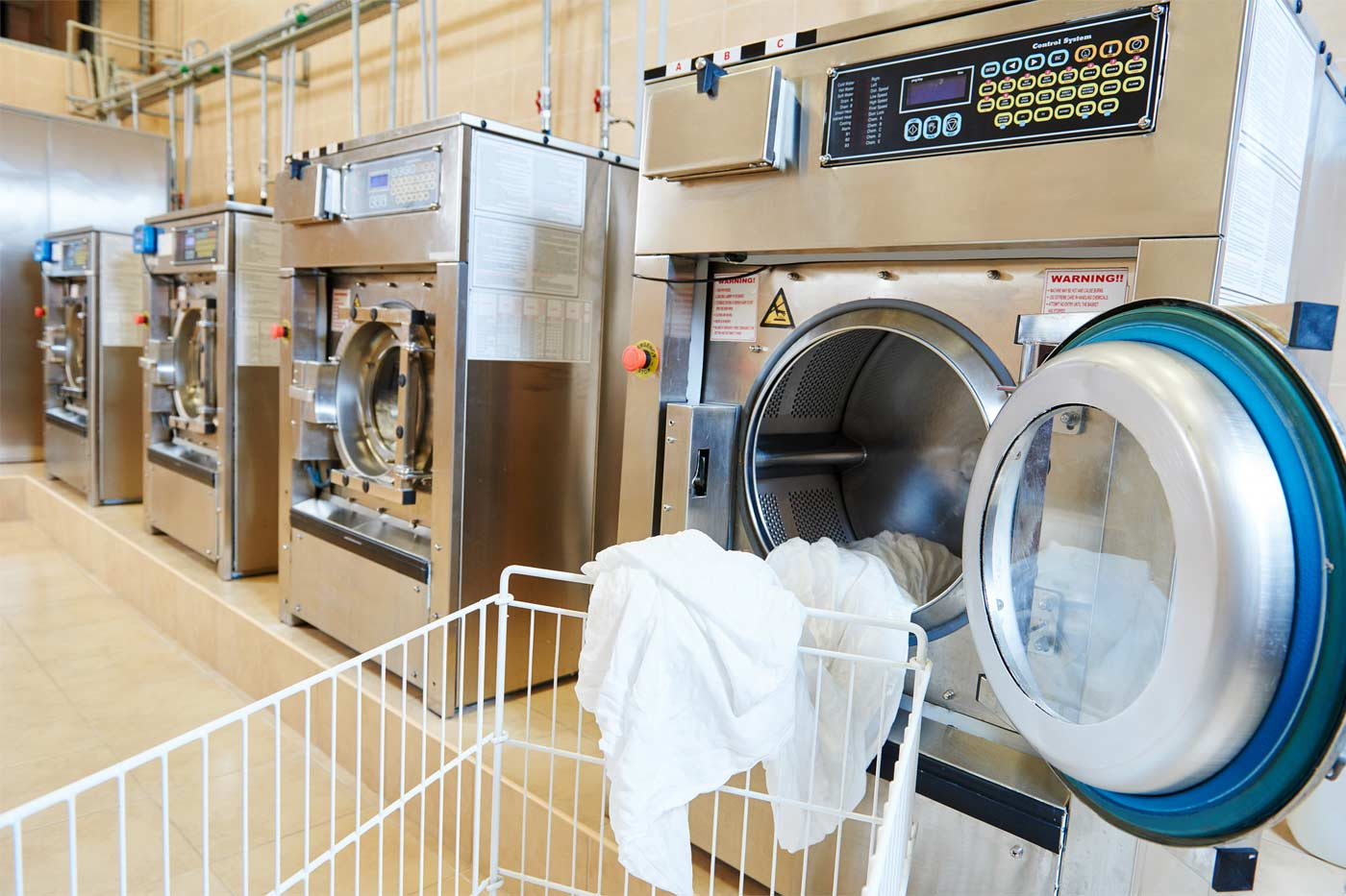 off premise laundry Outsourcing laundry services or on-premise: letting a professional laundry service take these nasty stains off your hands will give business owners one less thing.